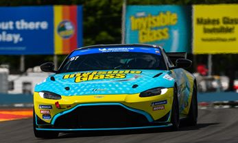 Tom Long Joins Invisible Glass Aston Martin at Lime Rock Park