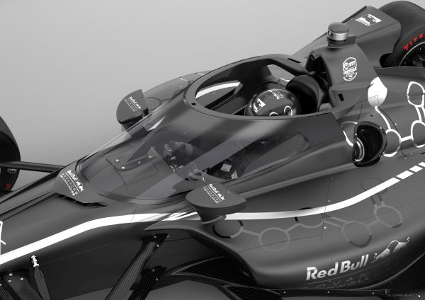 Red Bull Advanced Technologies develops Aeroscreen driver protection system for INDYCAR