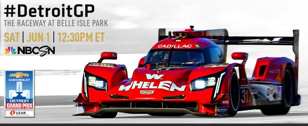 IMSA Detroit Chevrolet Sports Car Classic at Belle Isle Park - live