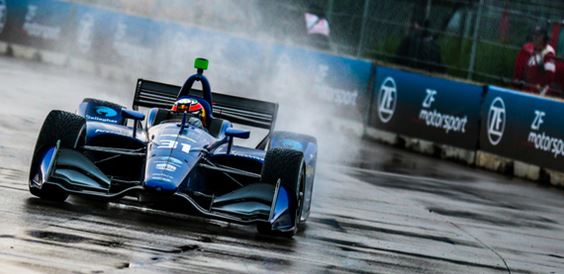 Patricio O'Ward Finishes 14th Despite Best Qualifying Effort in Detroit
