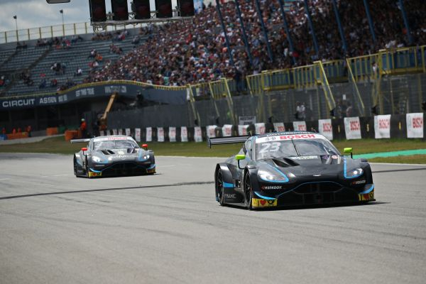 Double points finish for Aston Martin Vantage DTM at Assen