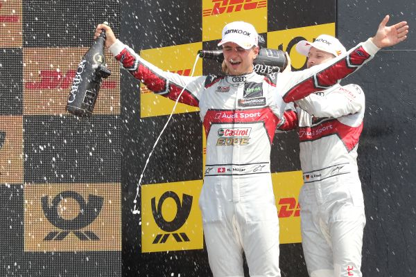 Müller is back! Second DTM career win in Misano on Sunday
