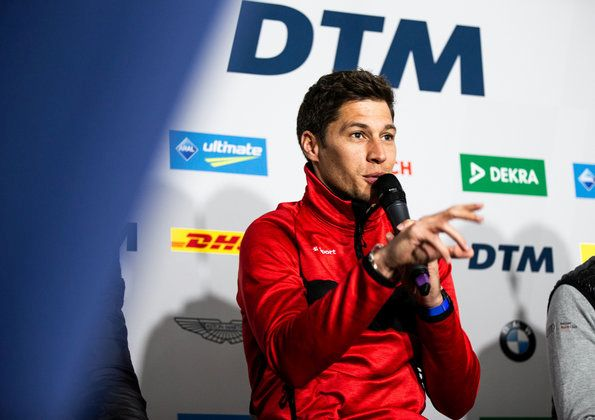 Interview with Loïc Duval before the DTM premiere at the MotoGP circuit in Assen