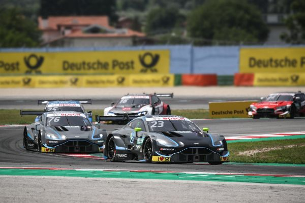 R-Motorsport gain valuable experience with the Aston Martin Vantage DTM
