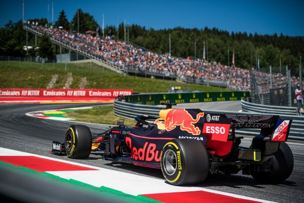 Aston Martin Red Bull Racing F1 Austrian Grand-Prix qualifying ...