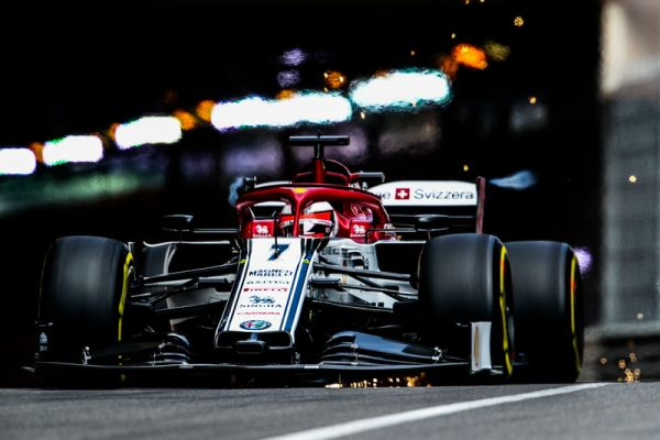 Alfa Romeo Racing F1 Monaco Grand Prix practices