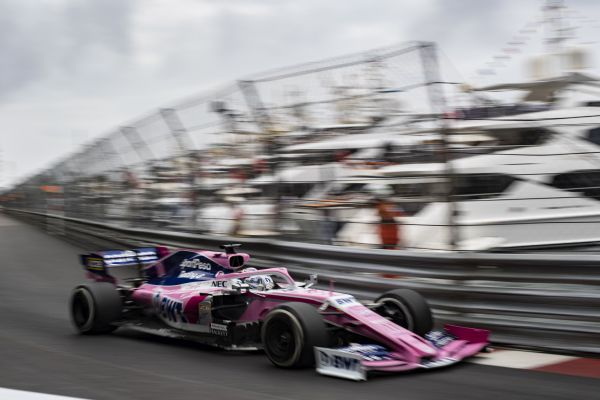 SportPesa Racing Point F1 Monaco Grand-Prix practices