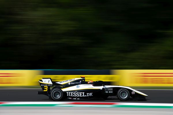 Lundgaard claims maiden FIA F3 pole in Budapest