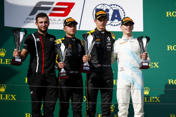 Budapest FIA Formula 3 Race 1 classification