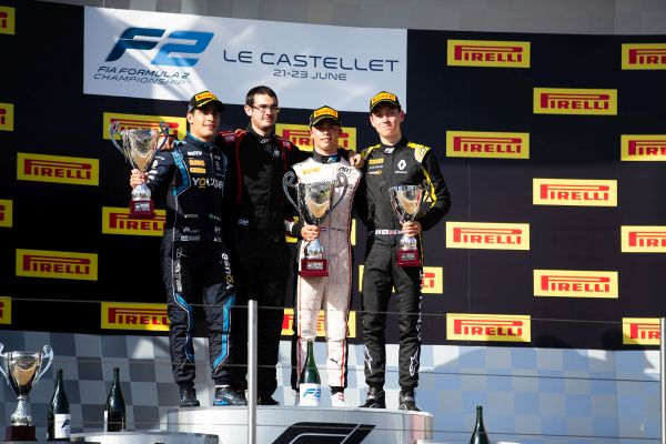 Le Castellet F2 Feature race classification