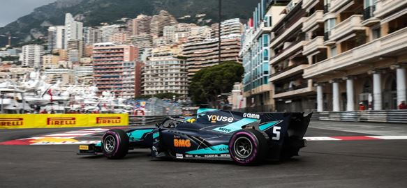 DAMS leaves Monaco with Teams' and Drivers' Championship lead after seventh F2 podium of the season