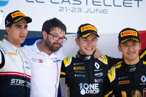 Home comforts for Anthoine Hubert in Le Castellet