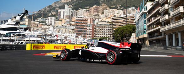 Red flags and safety cars in Formula 2 at Monaco