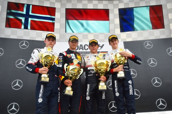 Arthur Leclerc triumphant on Formula 1 weekend at Hockenheim