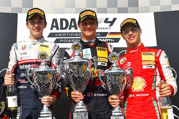 Hauger victorious at Hockenheim on Formula 1 weekend, Leclerc pole race 2