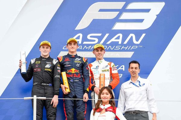 Suzuka F3 Asia races results and overall standings