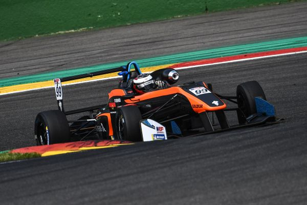 Andrade and Colapinto make promising first appearance at Spa