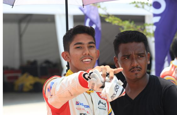 Muizz chases for top five finish at Buriram with renewed vigour