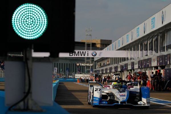Both BMW i Andretti Motorsport drivers in the points at the team's home Formula E race in Berlin.