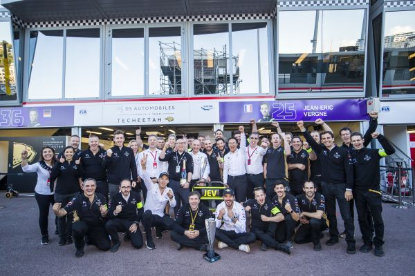 FIA Formula E driver and team standings after Bern ePrix 2019