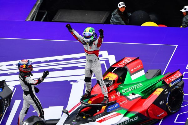 Lucas di Grassi delivers home win for Audi in German capital