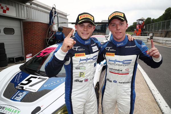 British GT4 Brands Hatch: HHC McLaren duo sweep to edge hard fought battle for pole