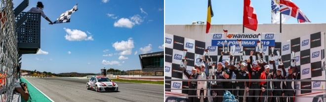 Autorama Motorsport by Wolf-Power Racing takes fourth TCE win of 2019 at Hankook 24H PORTIMAO