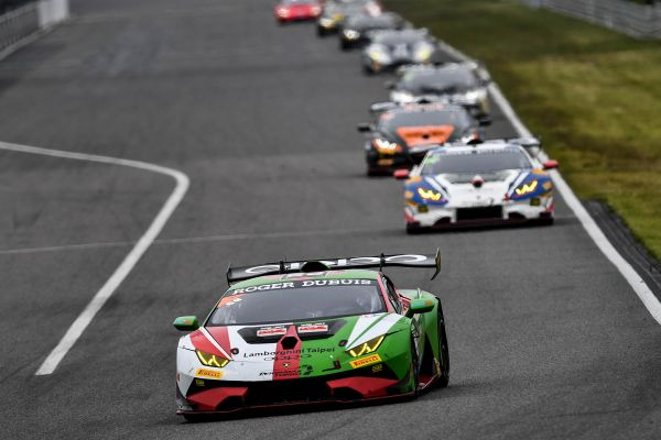 Lamborghini Super Trofeo Asia Fuji Entry List and overall standings