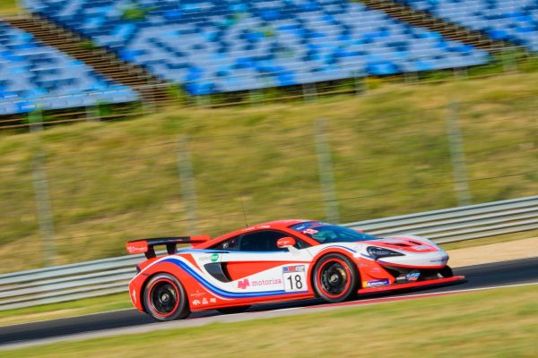 Faust Salom delivers strong performance on debut at the Hungaroring