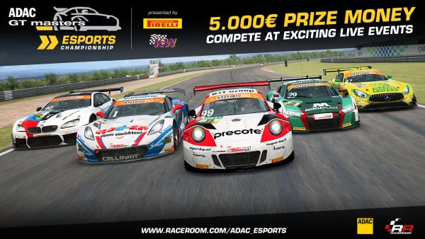 ADAC GT Masters launches eSports Championship