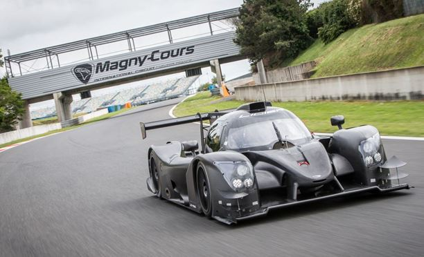 The new Ligier LM P3, the JS P320 hits the track!