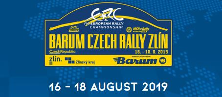 ERC Barum Rally Zlin event essentials