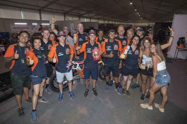 Prado unstoppable in Asia with eleventh GP win from 12 rounds as Red Bull KTM go 1-2 again