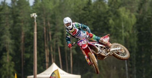 Difficult qualification race for Gajser at the MXGP of Latvia