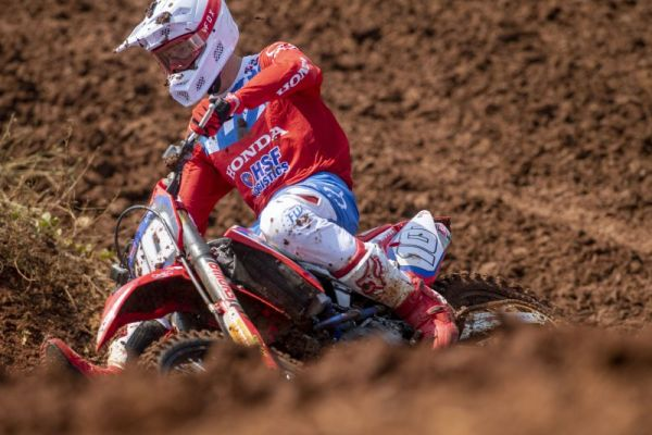 Team HRC's Vlaanderen comes through to sixth in MX2 Indonesia qualification - results, standings