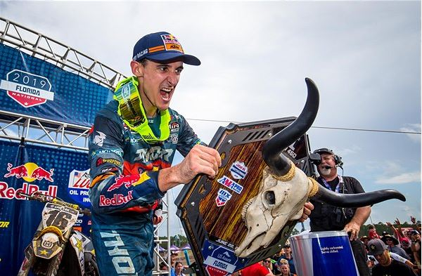 Marvin Musquin claims overall victory at the Florida National