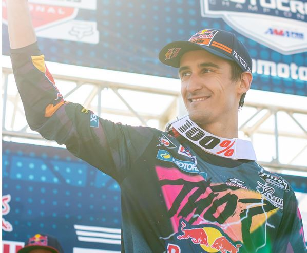 Musquin returns to the AMA Pro podium at the Fox Raceway National