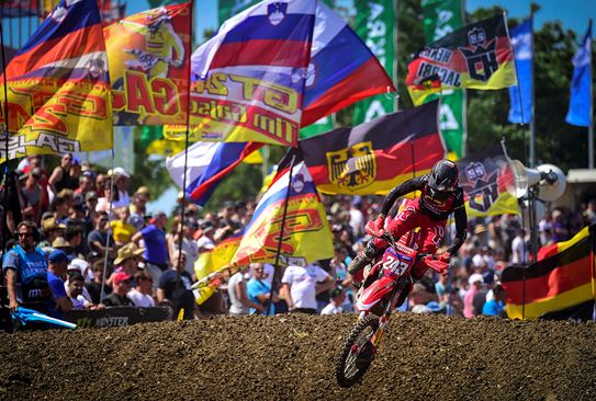 Gajser and Prado take victories at MXGP of Germany in Teutschenthal