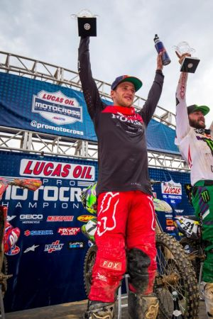 AMA Pro Motocross at Mt. Morris, Pennsylvania's High Point Raceway results and standings