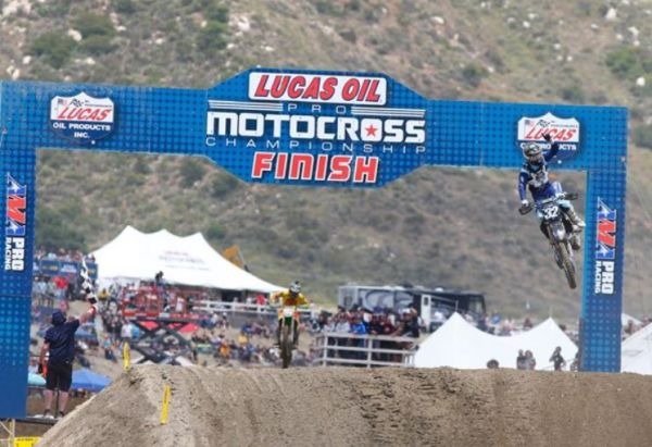 Monster Energy Star Yamaha Racing's Cooper and Ferrandis On The Podium at Fox Raceway