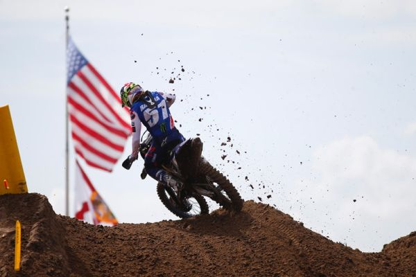 Monster Energy Yamaha Factory Racing Team's Barcia and Ferris Tackle Tough Conditions