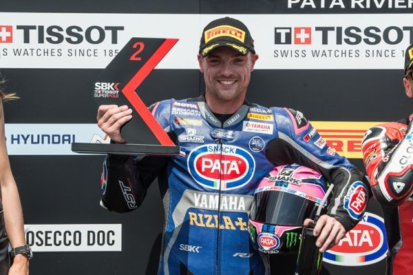 Lowes Returns to the Podium in Sweltering and Slippery Misano
