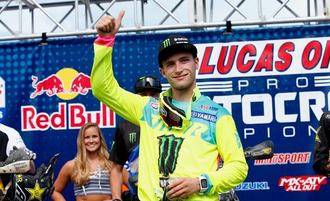Monster Energy Star Yamaha Racing's Cooper Claims Third-Straight Podium Under Varying Conditions in Colorado