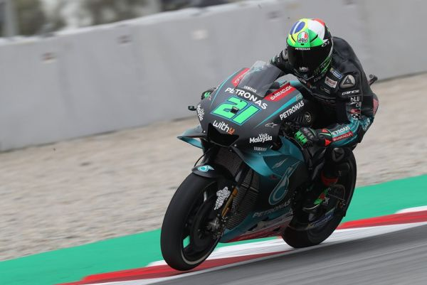 Morbidelli places second on official testing day in Barcelona