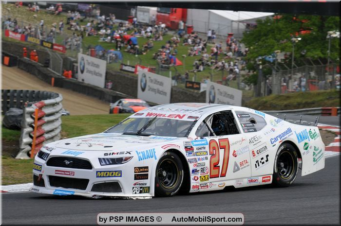 Alex Caffi Motorsport realizes the best weekend of the season in the Nascar Whelen Euro Series 2019 at Brands Hatch