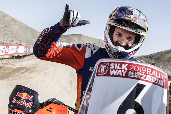 Sunderland and KTM win Silk Way Rally 2019