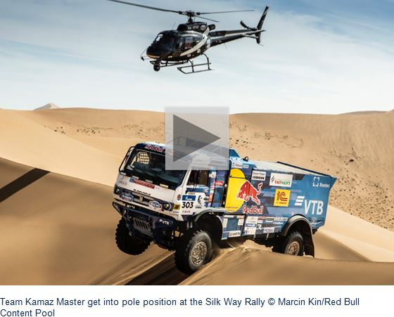 Gobi dunes play their part on penultimate stage of Silk Way Rally