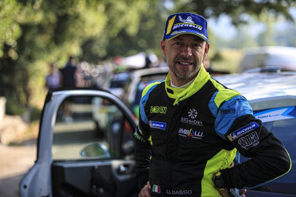 Two-time ERC champion Basso on top on Rally di Roma Capitale
