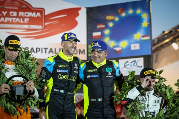 Basso's back: Double ERC champion wins in Rome