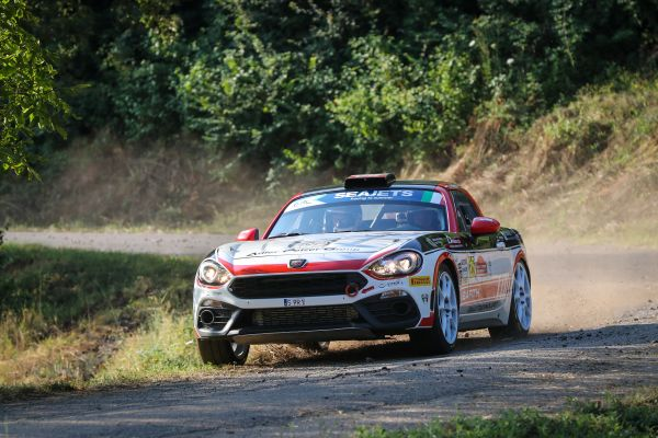 Polonski snatches Abarth Rally Cup and ERC2 advantage late on